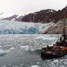 Alaska'da Bir Sualtı Buzulunun Tahminlerden 100 Kat Hızlı Eridiğini Gösteren Video
