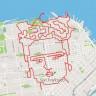 Koşmayı Sanata Çeviren Sporcunun Harita Uygulamasında Çizdiği Muhteşem Resimler