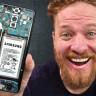 Bir Adam, Parçalarını Satın Alarak Toplama Samsung Galaxy S9+ Yaptı (Video)