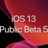 Apple, iOS 13'ün 5. Public Betasını Yayınladı