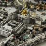 Star Wars'daki Uzay Gemisini 10,000 Parça Lego Kullanarak Oluşturdular