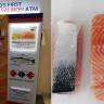 Dünyanın İlk Norveç Somonu ATM'si Singapur'da Açıldı