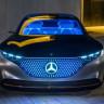 Mercedes-Benz'in Ultra Fütüristik Konsept Otomobili: Vision EQS