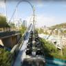 Bir Drone'un Hız Treni ile Yarıştığı Eğlenceli Video