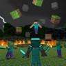 Bir Oyuncu, Tek Bir Blok Dahi Kazmadan Minecraft'ı Bitirdi (Video)