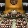 Model Birleşmiş Milletler Simülasyonu 14 Mayıs 2020'de Ankara HBVU'da