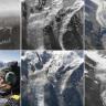 Alplerin 100 Yıldaki Buz Kaybını Ortaya Koyan İçler Acısı Kuş Bakışı Fotoğraflar