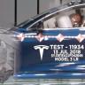 Tesla'nın Çarpışma Testi Laboratuvarından Görüntüler Paylaşıldı (Video)