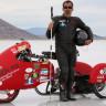 Kör Bir Adam, 320 km/s'lik Hız Rekorunu Kırmayı Deneyecek