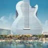 Dünyanın İlk Gitar Tasarımlı Oteli Hollywood'da Açıldı (Fotoğraf)