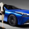 Toyota'nın Yeni Otomobili Mirai, Gücünü 'İnek Dışkısı'ndan Alacak