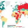 Küresel Barış Araştırmasına Göre Dünyanın En Tehlikeli 10 Ülkesi (2019)