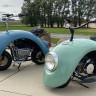 Volkswagen Beetle Parçalarından Tasarlanan İlginç Motosiklet