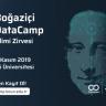 Boğaziçi Üniversitesi DataCamp'19, 23-24 Kasım'da İstanbul'da