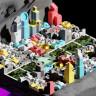 Ay'da Kurulacak Şehirlerin Yapısını Gösteren Üç Boyutlu Model