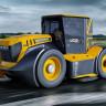 Dünyanın En Hızlı Traktörü JCB Fastrac, Yakından İncelendi (Video)