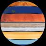 Gezegenlerin Dönüş Hızlarını Tek Bir Küre İçerisinde Kıyaslayan Etkileyici Animasyon