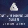 Yönetim ve Mühendislik Günleri 6-8 Şubat'ta ODTÜ'de