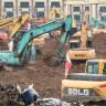 Çin, Koronavirüs Salgınıyla Mücadele İçin 6 Günde 1.000 Yataklı Hastane İnşa Edecek