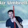 Bir YouTuber, Kendi Görünmez Şemsiyesini Yaptı