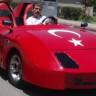 Mersin'de Yaşayan Fahri Karabaş, Akülü Araba İsteyen Oğluna Bu Arabayı Yaptı