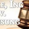 Facebook ve Google, Mahkemede Apple'a Karşı Samsung'u Destekliyor