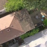 Çatıda Mahsur Kalan Drone'u Film Senaryolarındaki Gibi Kurtardılar