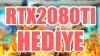 Dünyanın En Güçlü ve En Pahalı Oyuncu Ekran Kartı RTX2080TI'ı İnceleyip Size Hediye Ediyoruz!