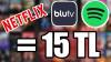 İnternette 5-10 TL'ye Paket Halinde Satılan BLUTV, Netflix ve Spotify Premium Hesaplarını Denedik