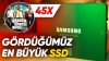 İçine 45 Tane GTA V Sığan Ultra Büyük SSD'yi İnceledik: Samsung 870 EVO