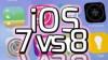 iOS 8 ve iOS 7 Karşılaştırması