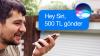 Apple'ın Sesli Asistanı Siri ile 500 TL Gönderdik!